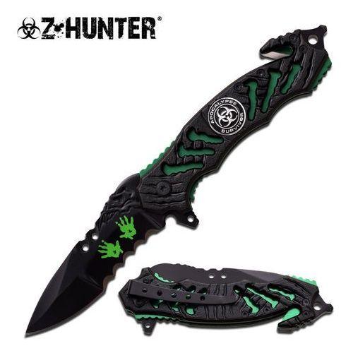 Nóż z-hunter ostrze składane zb-160gn marki Usa