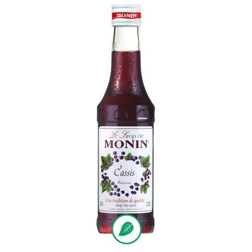Monin Syrop smakowy bllackurrant, czarna porzeczka 250ml