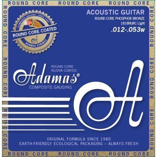 Adamas (664683) Phosphor Bronze Nuova powlekane struny do gitary akustycznej - Light.012-.053