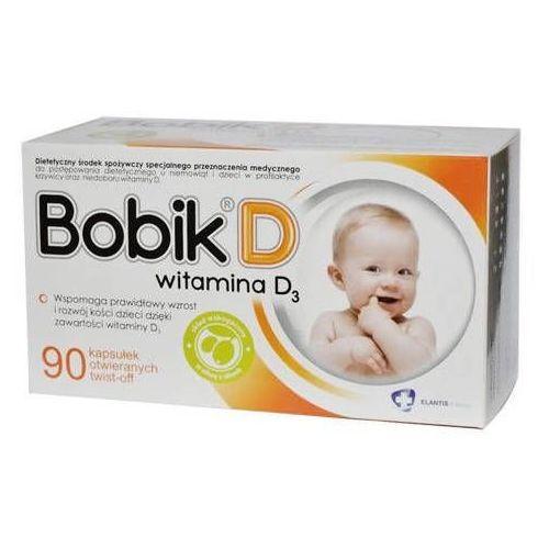 Kapsułki Bobik D x 90 kapsułek twist-off