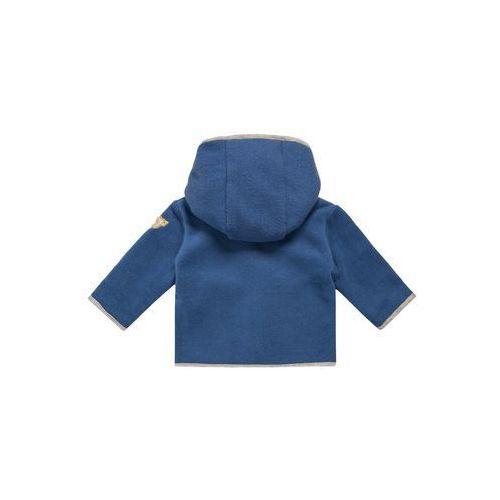 Steiff Collection BE MY NO 1 Kurtka z polaru moonlight blue/blue (kurtka dziecięca) od Zalando.pl
