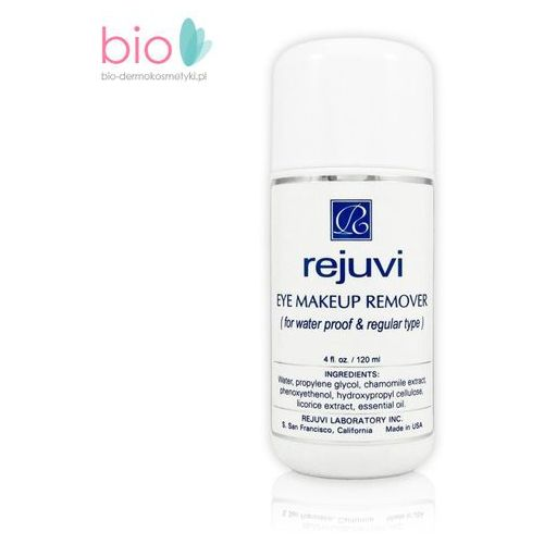 Water based eye makeup remover