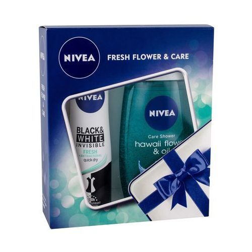 Nivea hawaii flower & oil zestaw 250 ml dla kobiet (9005800306117)