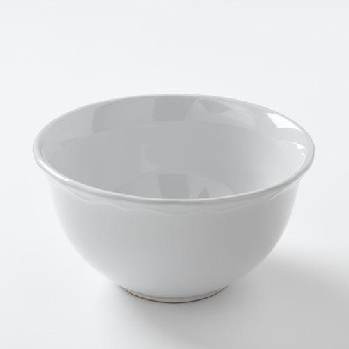 Miska ceramiczna z pofalowanym brzegiem (4 w zestawie), ajila marki La redoute interieurs