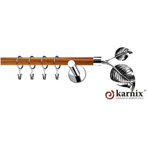 Karnisz metalowy NEO Prestige pojedynczy 19mm Sorento INOX - calvados - oferta [35964772c72594e6]