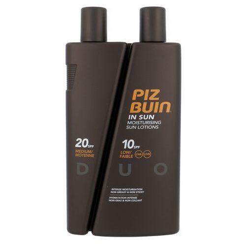 Piz buin in sun lotion duo spf10 + spf20 300ml w opalanie (3574660379518)