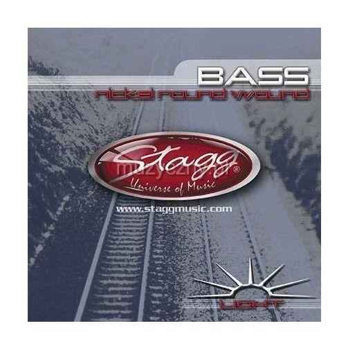 Stagg ba4000 struny do gitary basowej 40-100