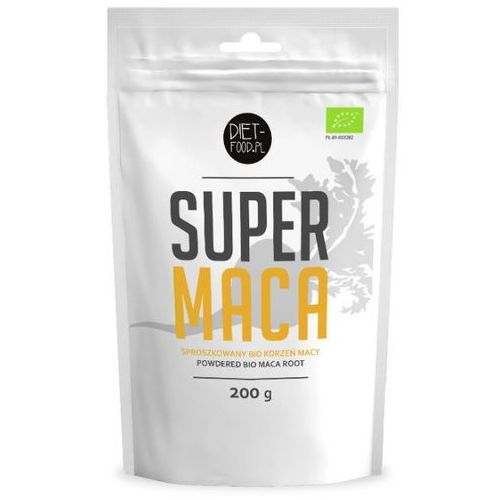 Maca Sproszkowana 200g - DIET-FOOD - EKO (5901549275278)