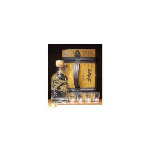 Wódka Dębowa 0,7l w kuferku z kieliszkami, F6A8-444F9_20141125191732