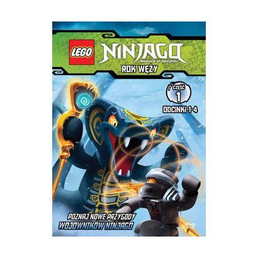 Galapagos films Lego ninjago. rok węży, część 1 7321997610014 (7321997610014)