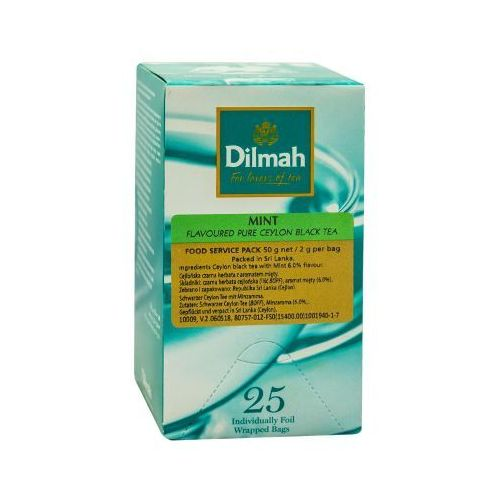 mint 25 torebek marki Dilmah