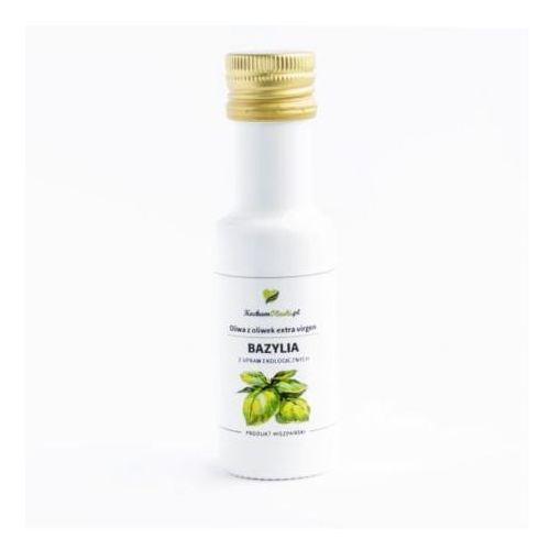 Oliwa z oliwek z bazylią BIO 100ml, OLIWA012