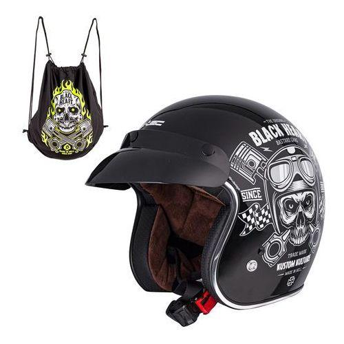 W-tec Kask motocyklowy v541 black heart,, xxl (63-64)