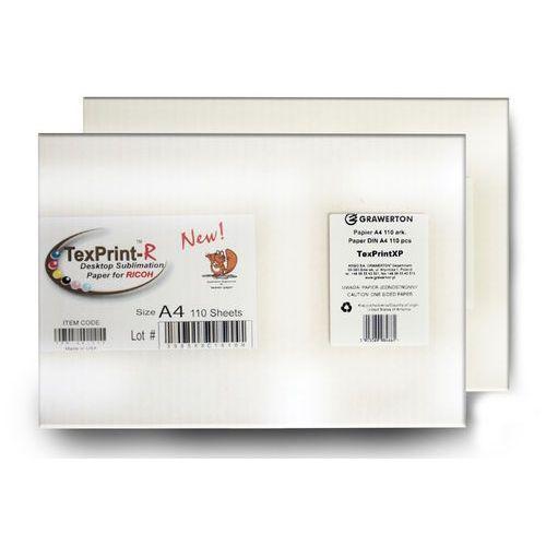 Grawerton Papier sublimacyjny texprintxp-r a4 do sublimacji 110 ark./op.