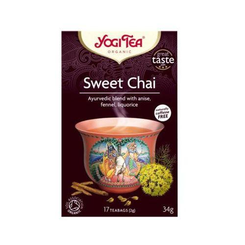Yogi tea 17x2g sweet chai herbata organic bio