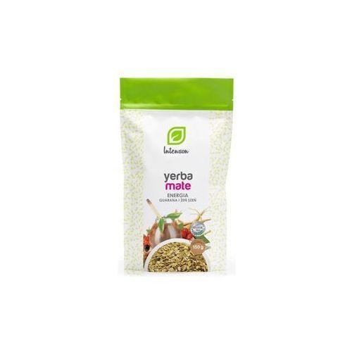 Herbata yerba mate energia guarana i żeń szeń 150 g marki Intenson