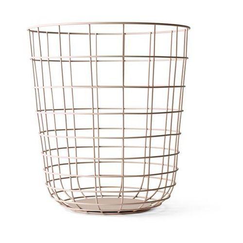 Kosz druciany Menu Wire Bin nude - oferta [25cee403c1b2f3b2]