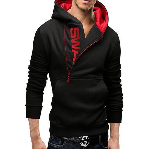 Bluza męska SWAG BLACK I, kolor czarny