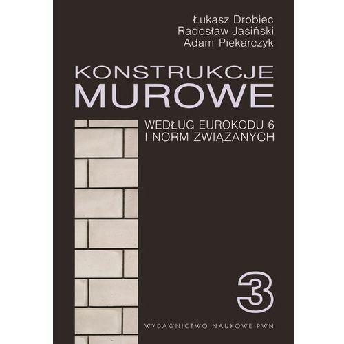 Konstrukcje murowe. Wg Eurokodu 6 i norm związanych - Łukasz Drobiec