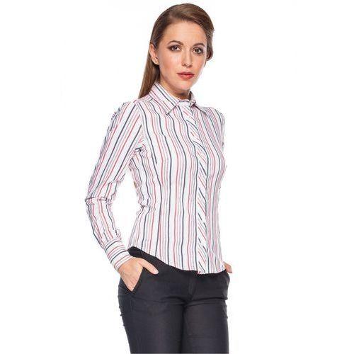 Koszula w pionowe paski - Duet Woman, 1 rozmiar