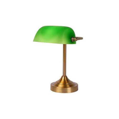 Lucide Banker - lampka biurkowa zielony