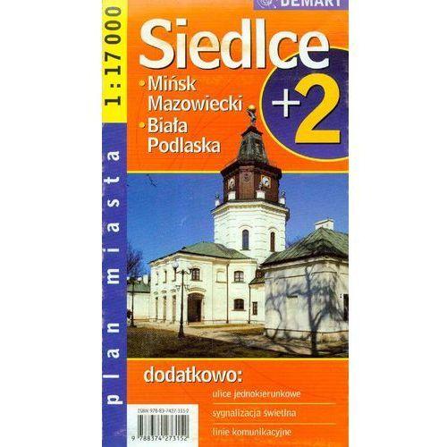 Siedlce Mińsk Mazowiecki Biała Podlaska plan miasta (2 str.)