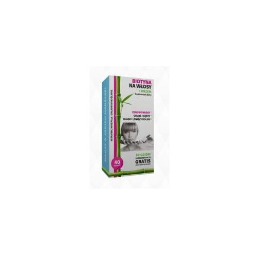 Tabletki NOBLE HEALTH BIOTYNA + KRZEM, 40 TABLETEK