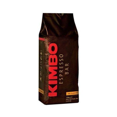 Kimbo 1kg espresso bar top flavour 100% arabika włoska kawa ziarnista import
