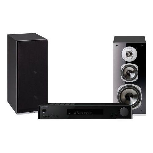 Onkyo Zestaw stereo tx-l20 + quadral argentum 530 czarny + darmowy transport!