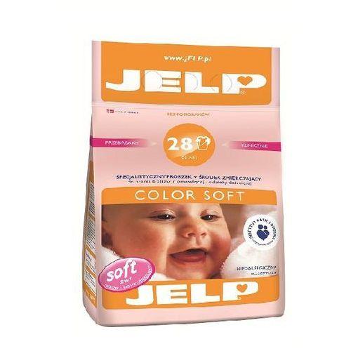 JELP Hipoalergiczny proszek zmiękczający Color Soft kolor 2,24kg (28 prań) (proszek do prania ubrań)