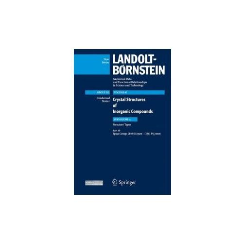 Landolt-Börnstein: Numerical Data and Functional Relationships in Science and Technology - New Series (9783642196614)