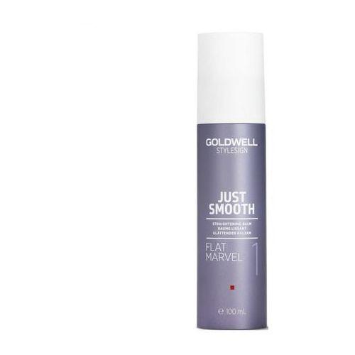 Goldwell stylesign just smooth balsam wygładzający przeciwko puszeniu się włosów (flat marvel 1) 100 ml