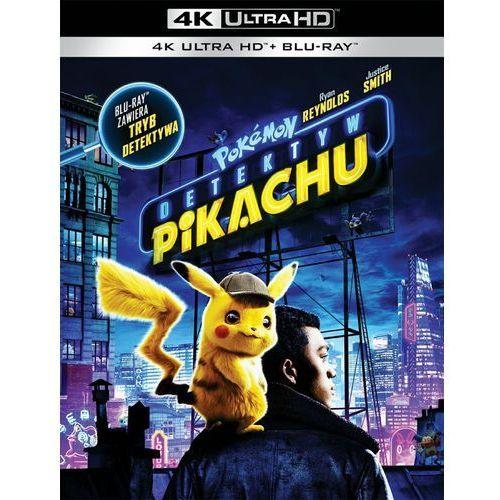 Rob letterman Pokemon detektyw pikachu (2bd 4k) (płyta bluray) (7321931352383)