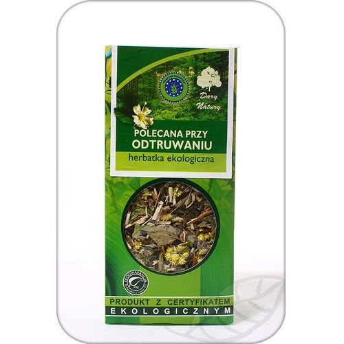 Herbata Odtruwająca BIO 50g - Dary Natury (5902741005311)