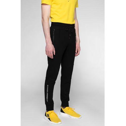beb2e0125cb9 Spodnie dresowe męskie SPMD201 - głęboka czerń 149