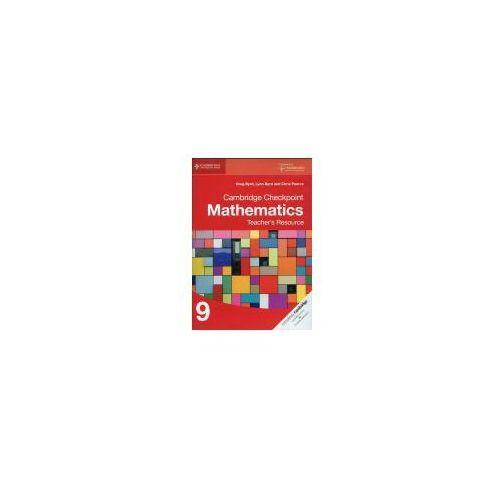 Cambridge Checkpoint Mathematics Teacher's Resource 9