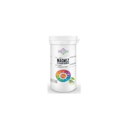 Cytrynian magnezu (650 mg) 120 kapsułek - soul farm marki Soul farm (witaminy i ekstrakty)