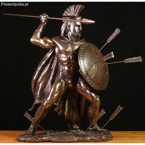 Duży Walczący Leonidas - król Sparty