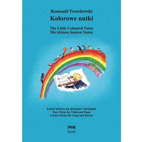 Pwm twardowski romuald - kolorowe nutki. łatwe utwory na skrzypce i fortepian