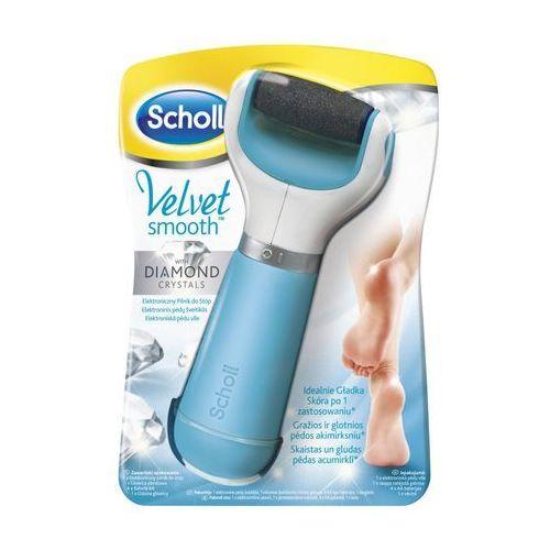 SCHOLL Velvet Smooth, elektroniczny pilnik do stóp z kryształkami diamentu - produkt z kategorii- pilniki i polerki do paznokci