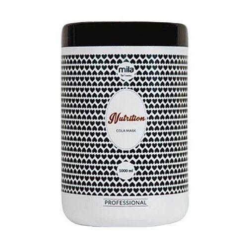 Mila Nutrition Cola Mask, maska do włosów o zapachu coli, zawiera mleczne proteiny 1000ml