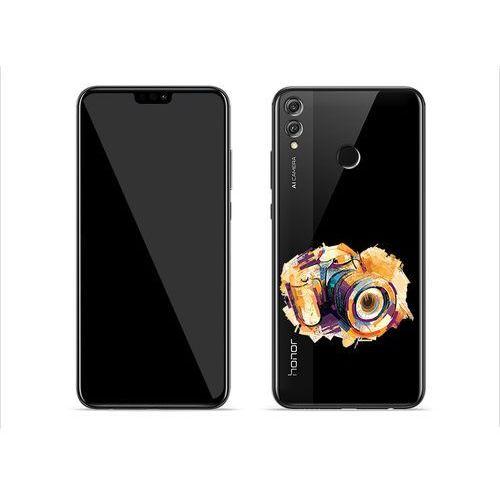 Huawei Honor 8X - etui na telefon Crystal Design - Kolorowy aparat, ETHW802CRDGDG048000