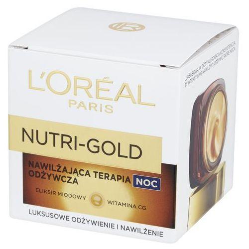 paris nutri-gold, 50 ml. nawilżająca terapia odżywcza na noc - l'oreal paris marki L'oreal