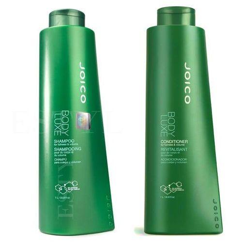 Joico body luxe | zestaw zwiększający objętość: szampon 1000ml + odżywka 1000ml (9753197531287)