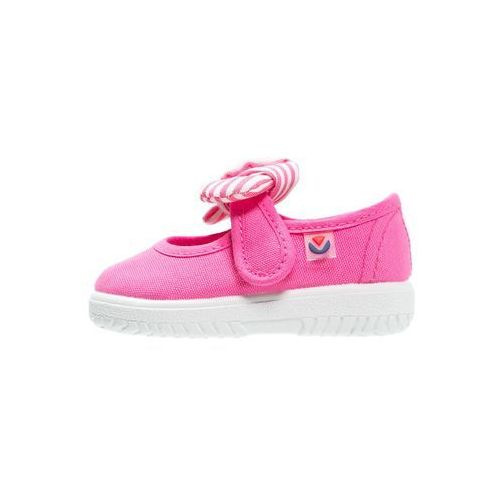 Victoria Shoes LONA PANUELO Baleriny z zapięciem fuchsia ze sklepu Zalando.pl