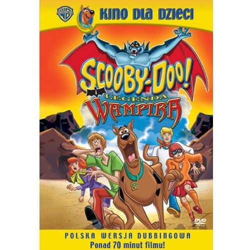 Scooby-Doo i legenda wampira (DVD) - Scott Jeralds OD 24,99zł DARMOWA DOSTAWA KIOSK RUCHU (7321909021402)