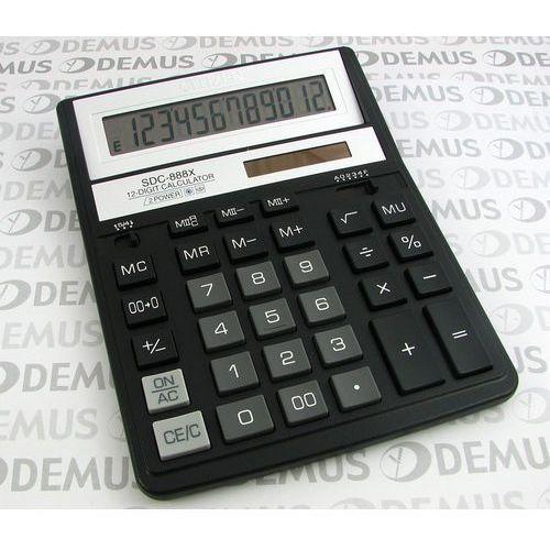 Kalkulator Citizen SDC-888XBK (4562195132738) 54,61 zł Kalkulator biurowy Citizen SDC-888X BK Kalkulator Citizen doskonały do obliczeń biurowych.