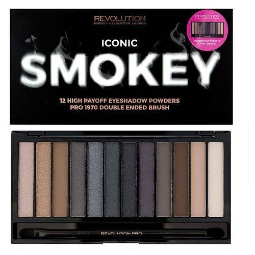 Iconic Smokey paleta 12 cieni 13g - Makeup Revolution (5029066072313)