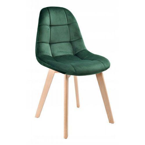 Krzesło westa velvet aksamit zielony marki Krzeslaihokery
