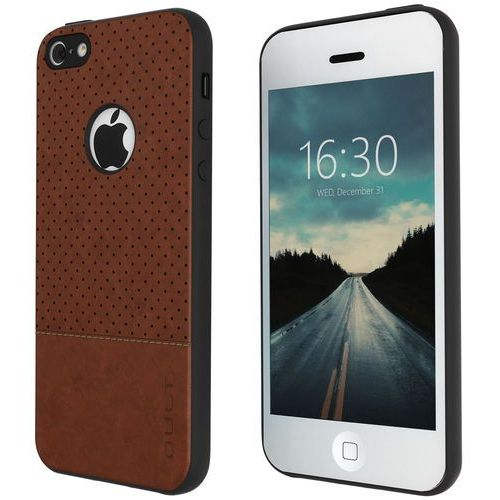 Qult Etui back case drop do iphone 5/5s/se brązowy